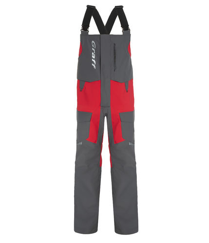 GRAFF SCHOLLE ANGELLATZHOSE ANTHRAZIT-ROT BRATEX 20.000/20.000 PROFESSIONELL-LINE LIMITED EDITION